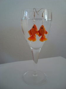 goldfish earrings