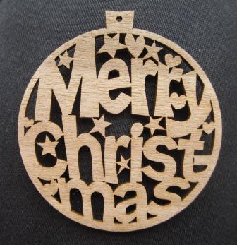 Laser Cut Christmas Tree Decorations Kayland