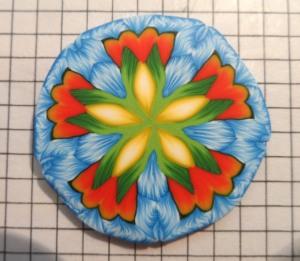 kaleidoscope flower cane