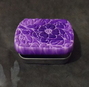 purple Sutton Slice box open