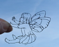 flower fairy laser cut